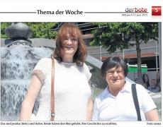 Transgender als Thema der Woche: Der Bote im Märkischen Kreis berichtet über Transidentität