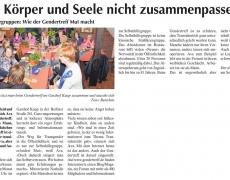 Der Gendertreff Leverkusen in der Leverkusener Wochenpost