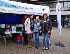 Fotos vom Gendertreff beim CSD Märkischer Kreis 2015 in Iserlohn