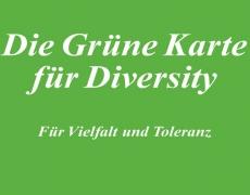 Die Grüne Karte für Diversity